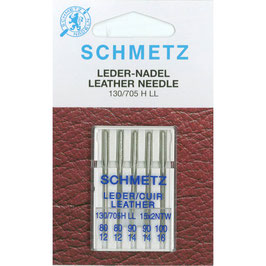 Schmetz Leder 130/705 H LL mix pak