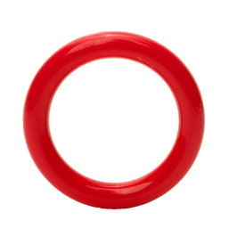 Durable speelgoedring dicht rood 40 mm