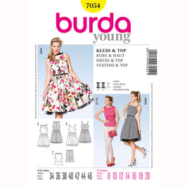 Burda patroon nr: 7054