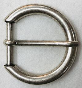 Metalen gesp D vorm dof metaal nr:919
