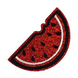 Rode glitter watermeloen applicatie
