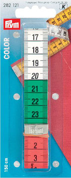 Centimeter beide kanten bedrukt