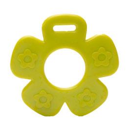 Groene bloem met bloemprint bijtring van Durable.