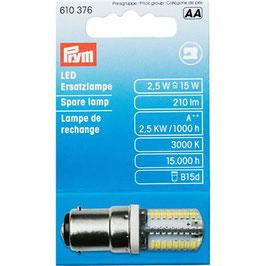 Naaimachine lampje met bajonet sluiting LED