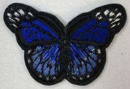 Kleine vlinder applicatie kobalt blauw