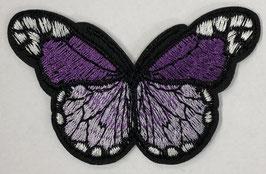 Grote vlinder applicatie paars