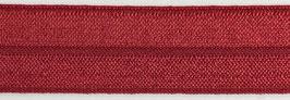 Biaisband elastisch rood