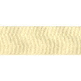 Keperband polyester 30 mm roomkleur