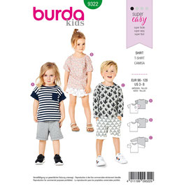 Burda patroon nr: 9322