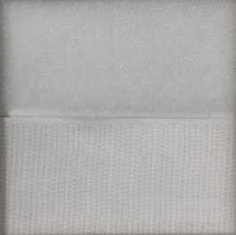Wit plakbaar 10cm breed klittenband prijs per 25cm