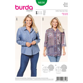 Burda patroon nr: 6614