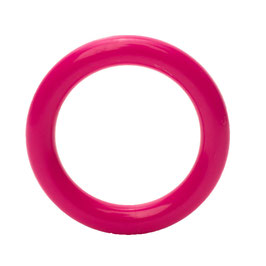 Durable speelgoedring dicht donker roze 40 mm