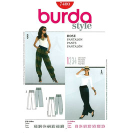 Burda patroon nr: 7400