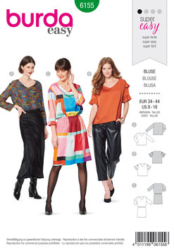 Burda patroon nr: 6155