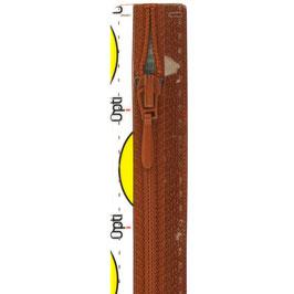Terracotta rits met druppel trekker niet deelbaar
