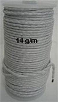 Loodkoord 14 gram per meter.