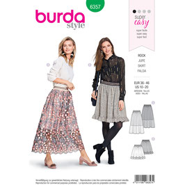 Burda patroon nr: 6357