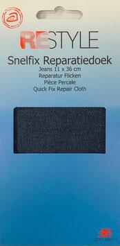 Jeans reparatie doek (donker blauw)