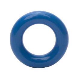 Durable speelgoedring dicht blauw 25 mm
