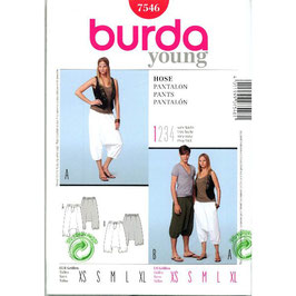 Burda patroon nr: 7546
