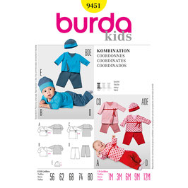 Burda patroon nr: 9451