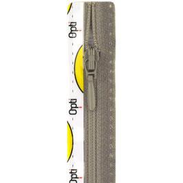 Midden grijze rits met druppel trekker niet deelbaar