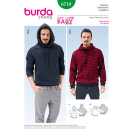 Burda patroon nr: 6718