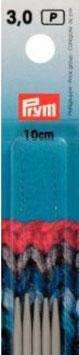 Kousen- en handschoenbreinaalden 3 mm