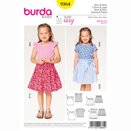 Burda patroon nr: 9364
