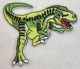 Licht groene Tyranosaurus-Rex (T-Rex) dinosaurus applicatie