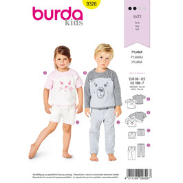 Burda patroon nr: 9326