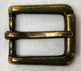 Metalen gesp vierkant brons nr:925