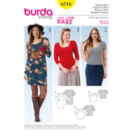 Burda patroon nr: 6716