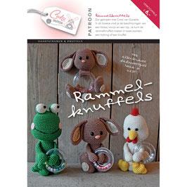 Cute Dutch patroonboekje van Rammelknuffels