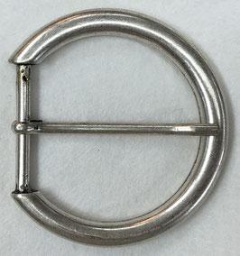 Metalen gesp rond zilverkleur nr:936