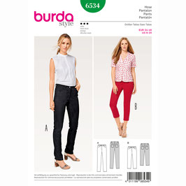 Burda patroon nr: 6534