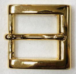 Metalen gesp vierkant goudkleur nr:301