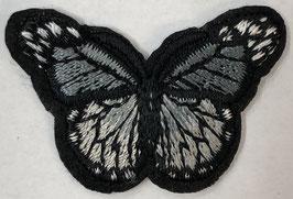 Kleine vlinder applicatie grijs