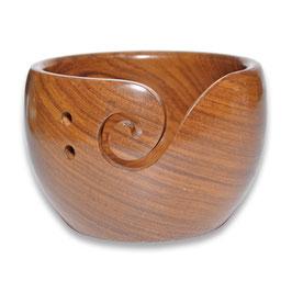 Durable houten yarn bowl laag model