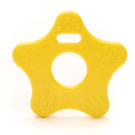 Gele ster bijtring van Durable.