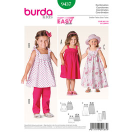 Burda patroon nr: 9437