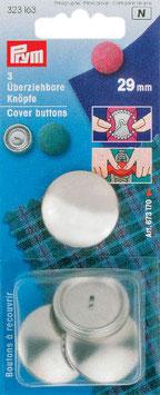 Zelf stoffeerknopen maken 29 mm