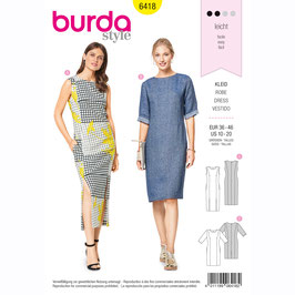 Burda patroon nr: 6418