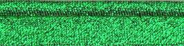 Groen glitter paspelband