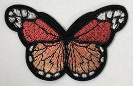 Grote vlinder applicatie roze