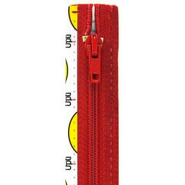 Signaal rode rits met spiraal tand