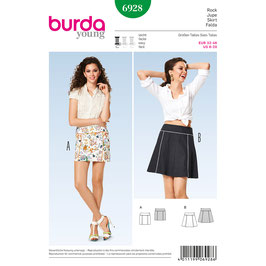 Burda patroon nr: 6928