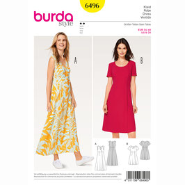 Burda patroon nr: 6496