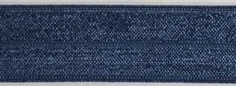 Biaisband elastisch blauw
