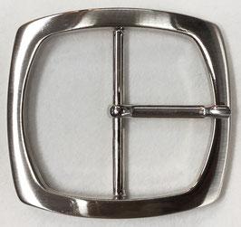 Metalen gesp vierkant glans metaal nr:903